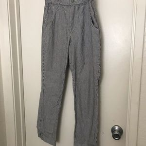 Stripped hollister pants